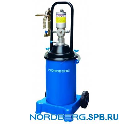 Установка для раздачи густой смазки пневматическая Nordberg NO5012