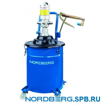 Установка для раздачи густой смазки пневматическая Nordberg NO5020