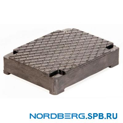 Накладка резиновая для ножничных подъемников Nordberg 1023