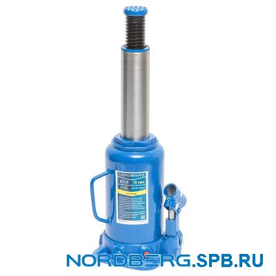 Домкрат бутылочный 20 тонн Nordberg N3120