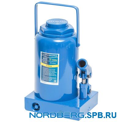 Домкрат бутылочный 32 тонн Nordberg N3132