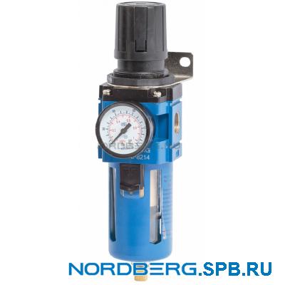 """Фильтр с редуктором 1/2"""" Nordberg NP8214"""