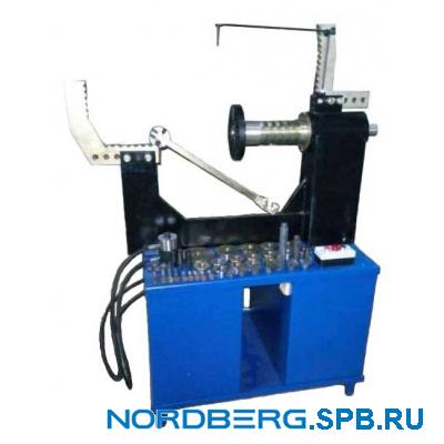 Стенд для правки литых дисков с электрической гидравликой без токарной группы Nordberg 21LE
