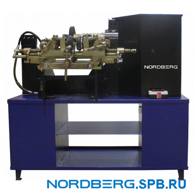 Стенд для правки литых и стальных дисков с пневмогидравликой (2 скорости + электропривод вала) Nordberg ECO 22SLR