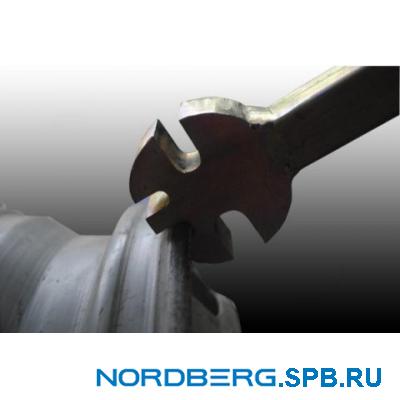 Стенд для правки литых и стальных дисков с электрогидравликой 2-х-скоростной Nordberg ECO 22SLE