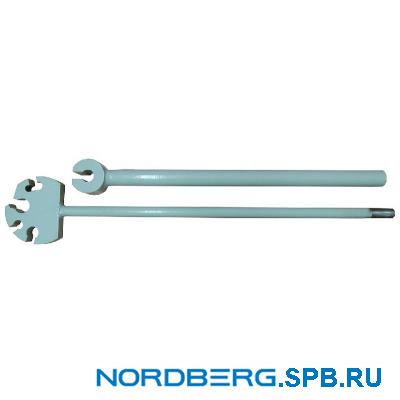 Ключ рихтовочный пазовый Nordberg КРД-1