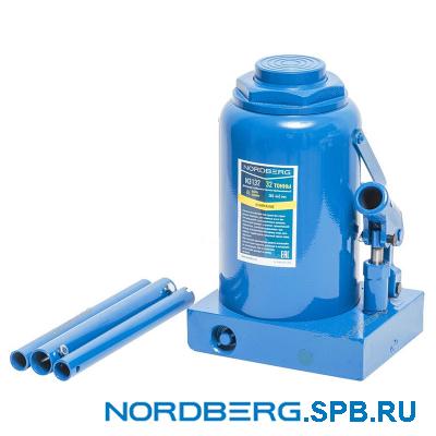 Домкрат бутылочный 30 тонн Nordberg N3130