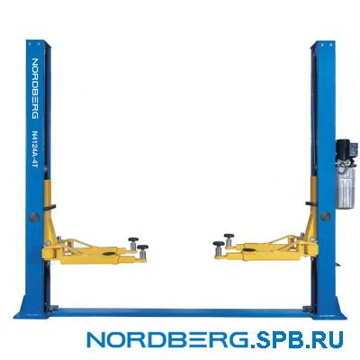 Подъемник двухстоечный 4 тонны Nordberg N4124A-4T