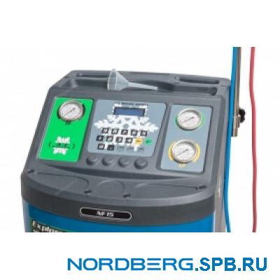 Полуавтоматическая установка для заправки автомобильных кондиционеров Nordberg NF15