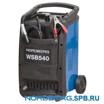 Устройство пускозарядное 12/24V макс ток 540A Nordberg WSB540