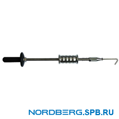 Молоток обратный для кузовных работ с крючком Nordberg F002