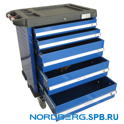 Тележка инструментальная 5 полок Nordberg T5N