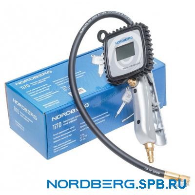 Пистолет для подкачки шин, цифровой Nordberg Ti7D