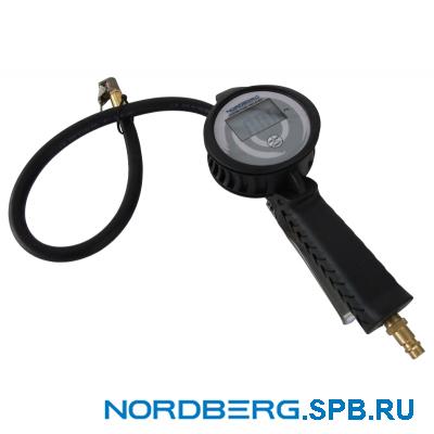 Пистолет для подкачки шин, цифровой Nordberg Ti8D