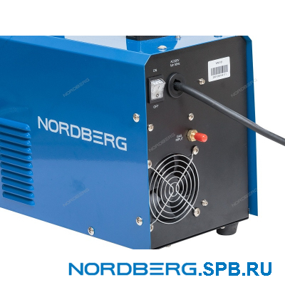Аппарат сварочный инверторный MIG+MMA, 220V Nordberg WMI181
