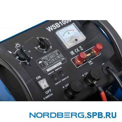 Устройство пускозарядное 12/24V макс ток 1000A Nordberg WSB1000