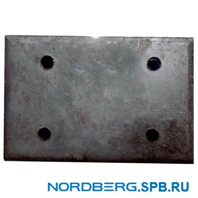 Насадка для подъемника металлическая (прямоугольная) Nordberg