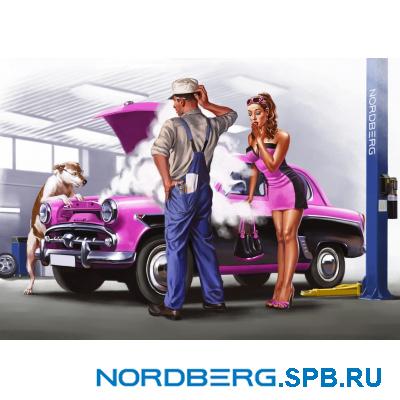 Плакат Nordberg