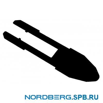 Пластина защитная рабочего стола для станков Nordberg 4638/4639