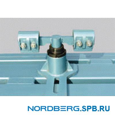 Зажимы за отбортовку порогов(двойные) Nordberg