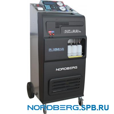 Автоматическая установка для заправки автомобильных кондиционеров Nordberg NF22L
