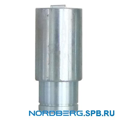 Комплект адаптеров для рамных авто, высота 130 мм (4 шт. проставки) для подъемника Nordberg 4122A-4T