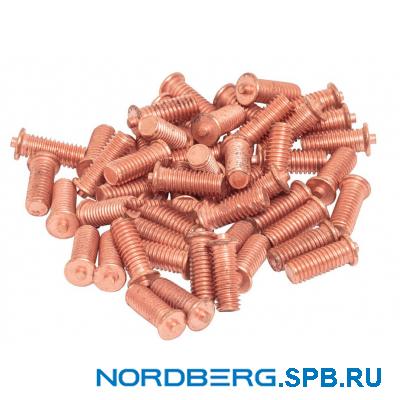 Болт омедненный для сварки (50 шт.) Nordberg