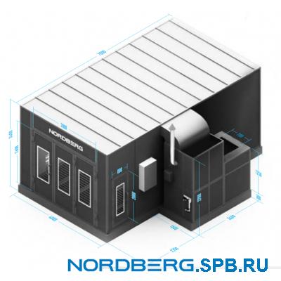 Окрасочно сушильная камера Nordberg ECONOMIC