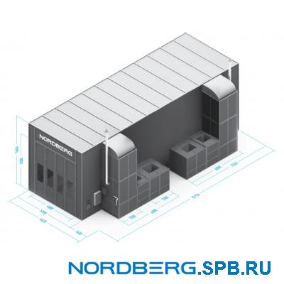 Окрасочно сушильная камера Nordberg INDUSTRIAL
