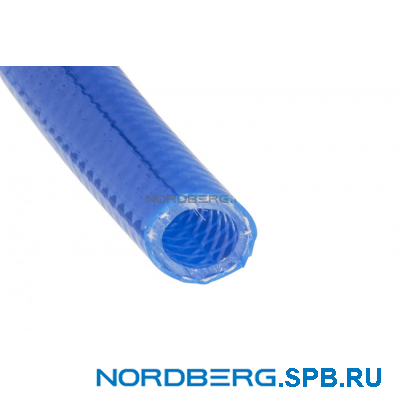 Шланг воздушный гибридный PVC Ø8х12 мм, 1 м Nordberg H0812HPVC