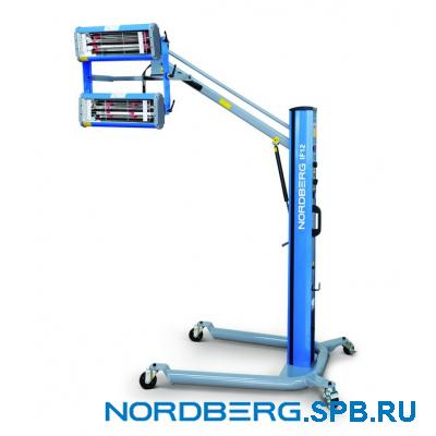 Сушка инфракрасная коротковолновая, 2 элемента Nordberg IF-12