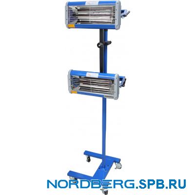 Сушка инфракрасная коротковолновая, 2 элемента Nordberg IF-2