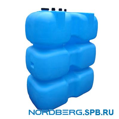 Топливный бак для дизельного топлива 1000 л Т1000КЗ