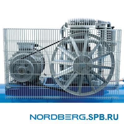 Компрессор поршневой с ременным приводом Nordberg NC100/480