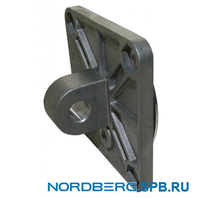 Крышка цилиндра рабочего стола (с креплением, размер 80х80мм) 6000003 Nordberg