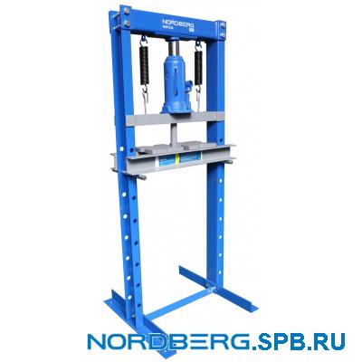Пресс гидравлический, домкрат, 12 тонн Nordberg N3612JL