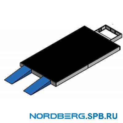 Основание 300 мм полностью решетчатое + 2 трапа Nordberg