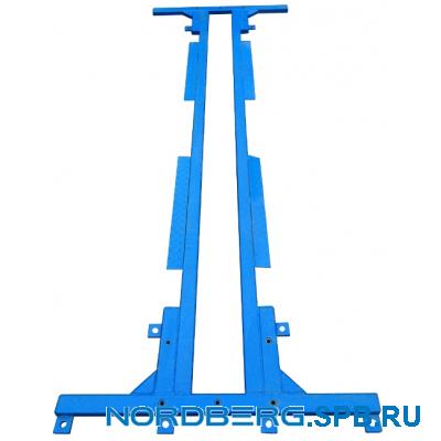 Основание металлическое для подъемника Nordberg 4120A-4T