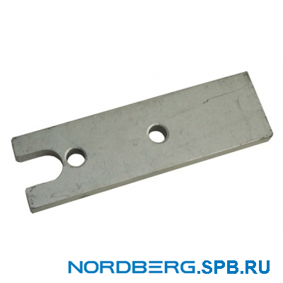 Пластина салазок нижняя 409 6000262 для станка Nordberg 4639,5ID
