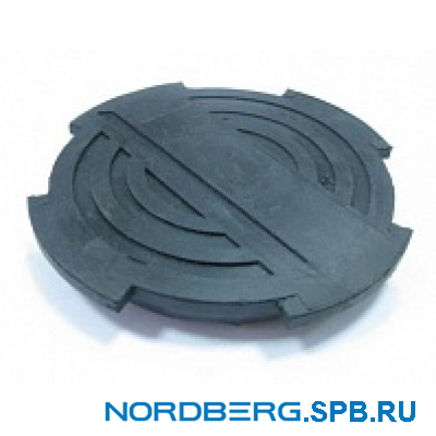 Насадка на домкрат 3,5 тонны резиновая Nordberg NRS
