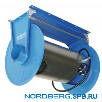 Катушка для сбора выхлопных газов под шланг D=75мм, длина 7,5м Nordberg H6075125