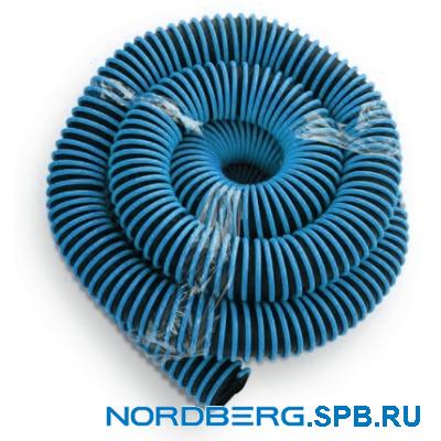 Шланг газоотводный, D=75 мм, длина 10 м (синий) Nordberg H076B10