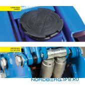 Домкрат подкатной 3 тонны Nordberg N3203