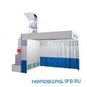 Пост подготовки к окраске с подогревом Nordberg NB100C