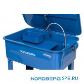 Установка для мойки деталей с электрическим насосом, объем 90 л Nordberg NW90