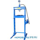 Пресс гидравлический, усилие 12 тонн Nordberg N3612