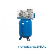 Компрессор поршневой с ременным приводом вертикальный Nordberg ECO NCEV300/810