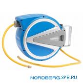 Шланг на самоскручивающейся катушке Nordberg HR0815HPVC