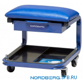 Сидение на колесах с выдвижным ящиком Nordberg N30S1