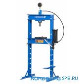 Пресс гидравлический, усилие 20 тонн, ножной привод Nordberg N3620FL